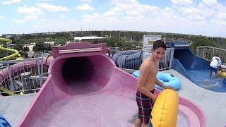 Pink Tornadoes Water Slide at Rapids Water Park