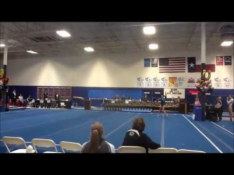 Ashley Hiller - Texas Level 9 State Championships - 2012