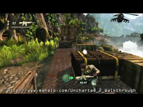Uncharted 2: Among Thieves Walkthrough - Chapter 13: Locomotion Part 2 HD