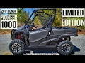 2017 Honda Pioneer 1000 Limited Edition Review of Specs & Features / UTV Walk-Around | SXS10M3LE