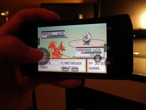 [How To] Play Pokemon on iPhone 5. iPod Touch. and iPad - GBA.emu