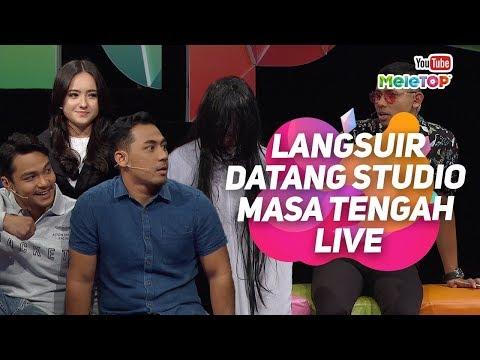 download lagu Langsuir datang studio MeleTOP masa tengah live! | Hannah Delisha , Syafiq Kyle & Firdaus Nadxaman gratis