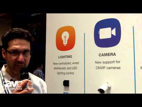 CEDIA 2015: Crestron Talks Growth of Pyng, Adds LED Lighting Control, ONVIF Cameras, Audio and More