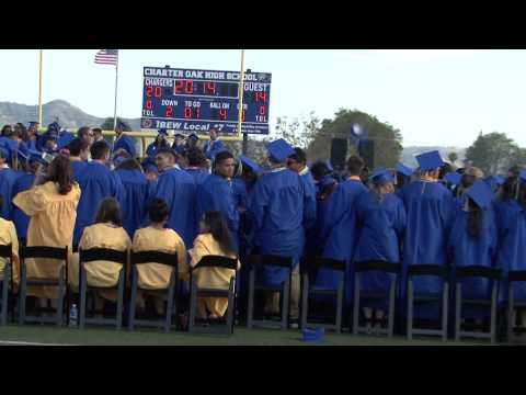 Majd Mike Yazji , graduation 2014, Charter Oak High School graduation