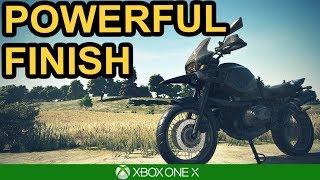 PUBG / POWERFUL FINISH / Xbox One X