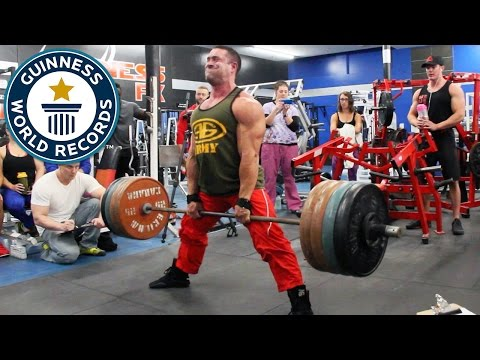 Heaviest sumo deadlift in one minute - Guinness World Records