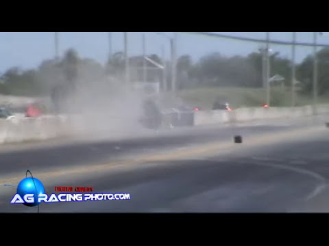 corvette fantasma accidente