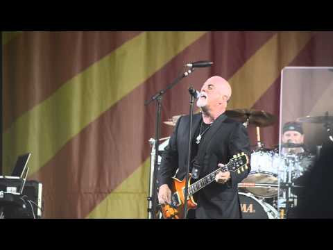 billy joel at jazz fest 2013 everybody says i did start the fire even thou it's still rock and roll