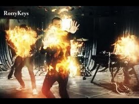 Linkin Park - Burn IT Down OFFICIAL MUSIC VIDEO on piano with Lyrics HD