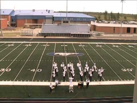 Vinita High School Band at Oologah Contest