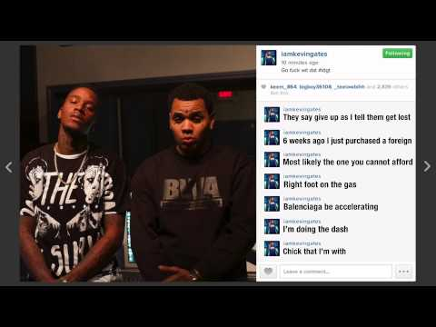 Kevin Gates Ft August Alsina - I Don't Get Tired (#idgt) Lyrics video