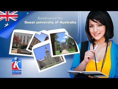 Study in Australia from Nepal Kathmandu Infosys