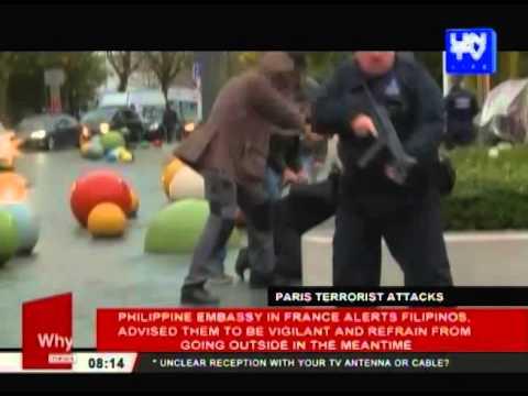 PHL embassy in France alerts Filipinos