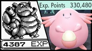 What Is The Most Possible EXP You Can Get in Pokemon Games?