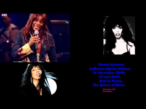Donna Summer - FASTER AND FASTER TO NOWHERE (in albumLive And Mor