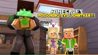 DID BABY LEAH KILL EVIL JOHNATHAN WITH POISON???- Baby Leah Minecraft Adventures!