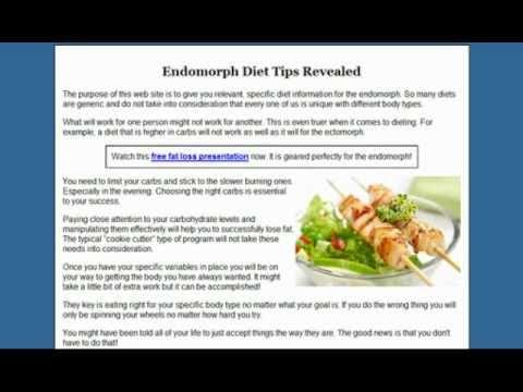 Endomorph Diet - 3 Tips That Will Always Work - YouTube