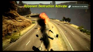 Twisted Metal PS3 Diablo Pass Death Race All Cars