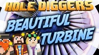 Minecraft - Beautiful Turbine - Hole Diggers 56