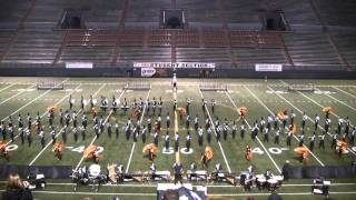 "2010 Central Valley High School Marching Band ""Criminal"""
