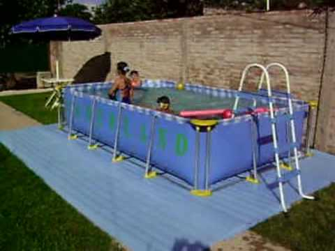 Piletas de lona youtube - Parches para piscinas de lona ...