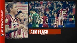 "#ATMFLASH. Simeone: ""Ha sido muy emocionante"" | ""It's been very exciting"""