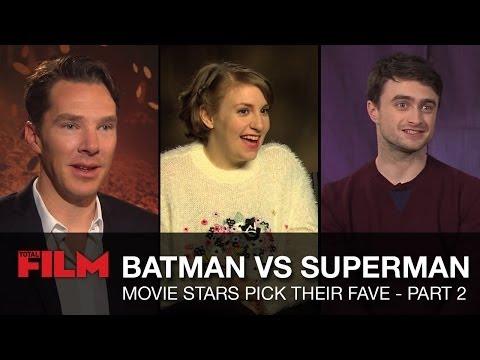 Batman vs Superman: Movie Stars Talk - Part 2