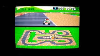 "SMK SNES MC3 Mario Circuit 3 1Lap 17""91 NBT PAL Time Trial Super Mario Kart - kepl3r"