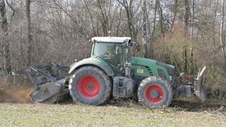 TRACTOR VS FOREST !