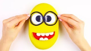DIY Creative Video For Kids Kinetic Sand Play Doh Orbeez Coloring Learning
