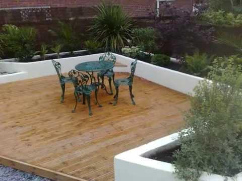 Garden Design Ideas for a Modern Urban Courtyard - Watch this ...