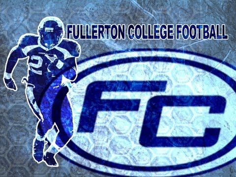 Fullerton College Football Highlight Reel - 2012 Season