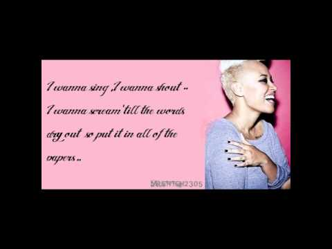 Emeli Sandè Read All About It (Part 3) w/ Lyrics