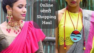 Online Jewellery Shopping Haul 2019 | Silver Handmade Jewellery | kundan Jewelry designs Aanchal