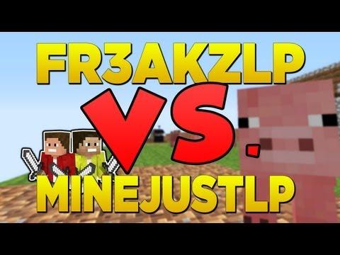 MineJustLP VS. Fr3akzLP | Bauernkämpfe || [MineJustLP] [HD+]