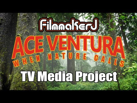 TV Media-SCHOOL PROJECT_Ace Ventura When Nature Calls_cave of bats scene