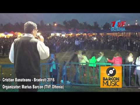 Cristian Banateanu si Orchestra Nicusor Troncea - Colaj LIVE Zilele comunei BRADESTI 2016