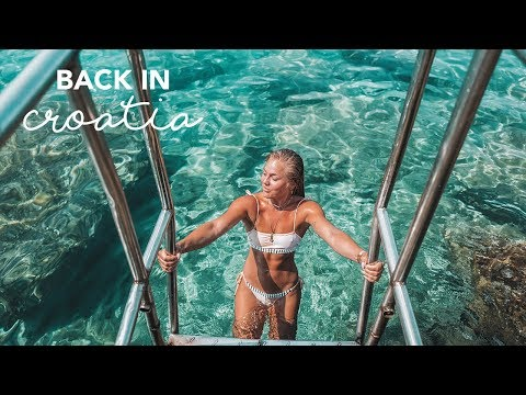 Going to a nudist beach in Hvar   TRAVEL VLOG thumbnail