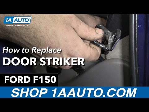 How to Replace Install Door Striker Ford F150 Buy Quality Auto Parts at 1AAuto.com