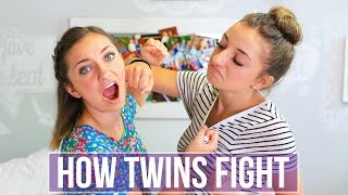 How Twins Fight | Brooklyn and Bailey