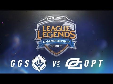 GGS vs. OPT - Week 6 Day 1 | NA LCS Spring Split | Golden Guardians vs. OpTic Gaming (2018)