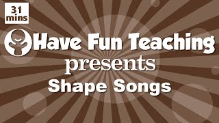 Video Shape Songs for Children