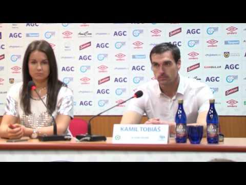 Tisková konference hostujícího trenéra po zápase Teplice - Příbram (18.3.2017)
