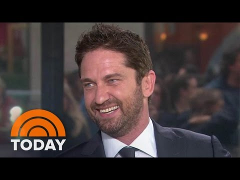 Gerard Butler: It's Hard To 'Put Down The Cheetos' And Train For Films | TODAY