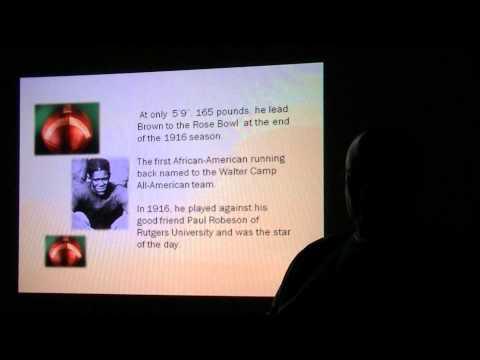 "Professor Black's History - Frederick Douglass ""Fritz"" Pollard"