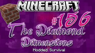 """COLOURED BRICKS""   Diamond Dimensions Modded Survival #156   Minecraft"