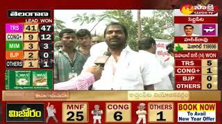 TRS MLA Srinivas Goud Face to Face -- win Mahabubnagar constituency - #TelanganaElectionResults2018 - netivaarthalu.com