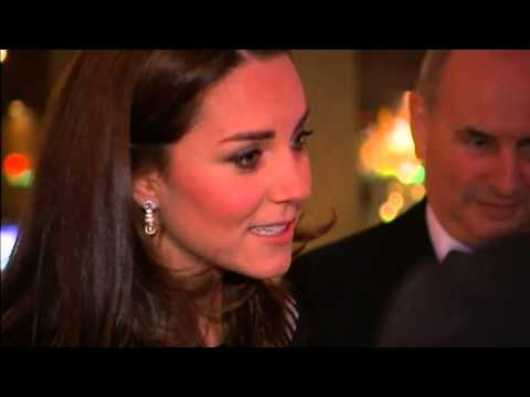 Kate Middleton pregnant and Prince William attends gala dinner in London