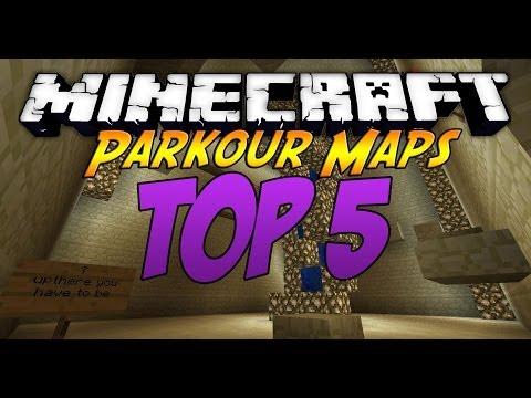 Minecraft: Top 5 Best Parkour Maps [1.8] [2014]