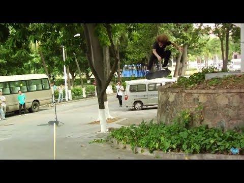 Tommy Sandoval ~ Actual Skateboarding